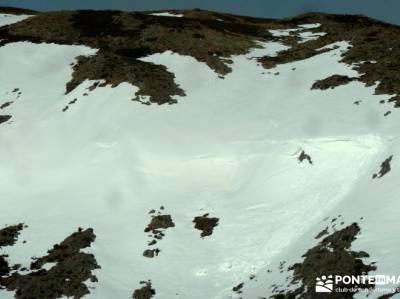 Parque Natural del Lago de Sanabria - alud de nieve;calidad en el senderismo